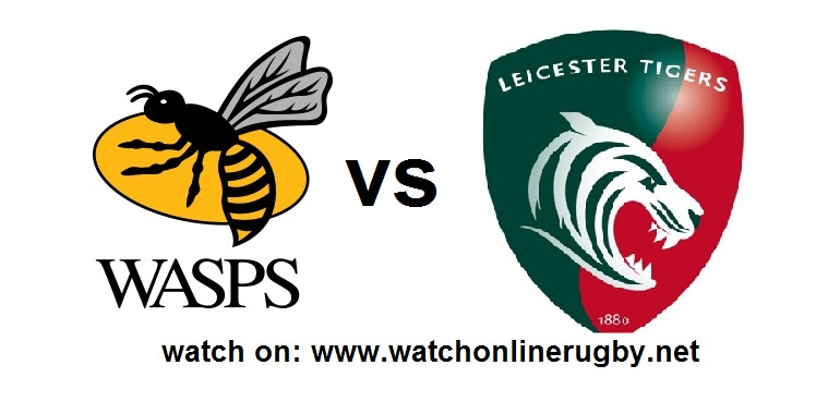 Live Streaming Wasps VS Tigers