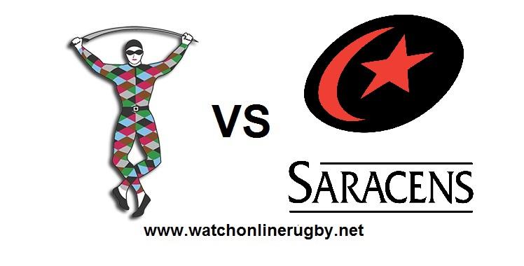 Harlequins VS Saracens Live stream