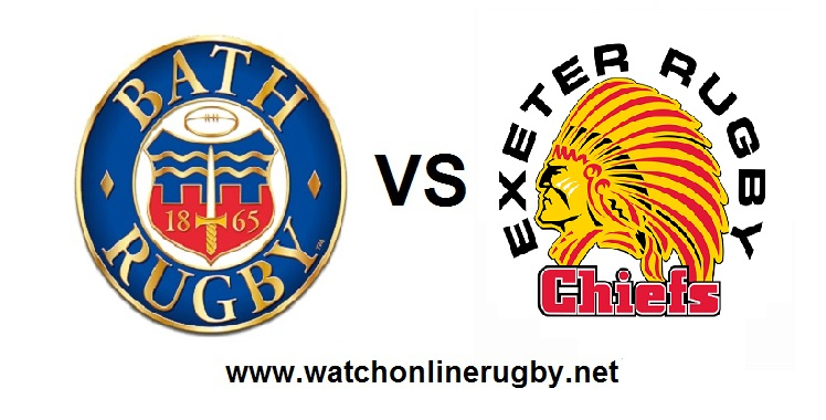 Live online Bath VS Exeter Chiefs