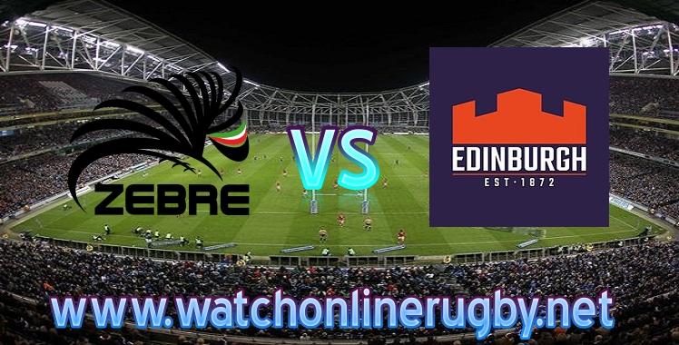 Zebre VS Edinburgh Live streaming