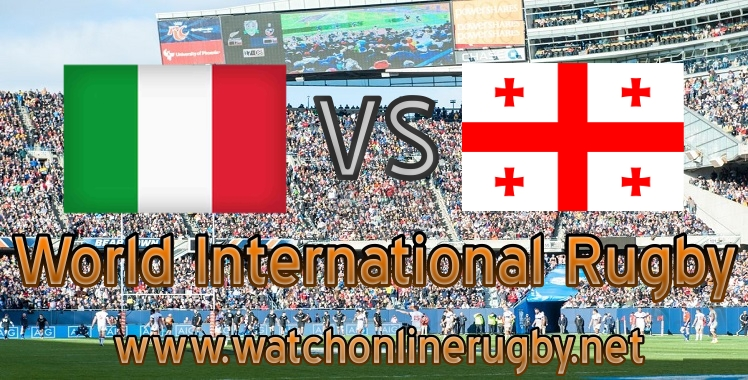 Georgia VS Italy Rugby live streaming