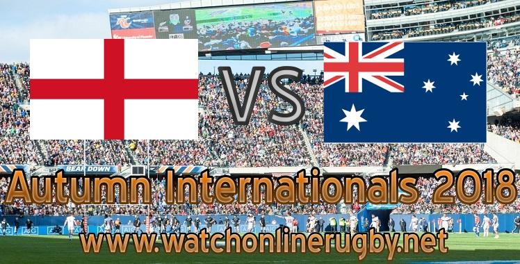 England VS Australia rugby live stream