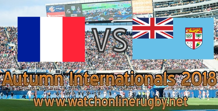 France VS Fiji online live rugby