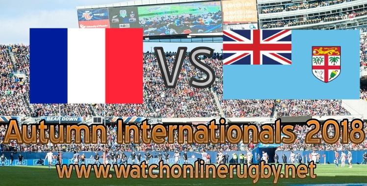 France VS Fiji online live rugby