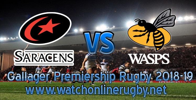 Saracens VS Wasps Live online stream