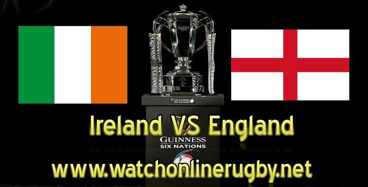 Ireland VS England Live Six Nations 2019