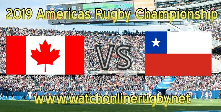 Canada VS Chile Rugby live stream 2019