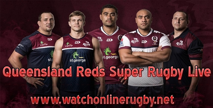 Queensland Reds Super Rugby Live Stream