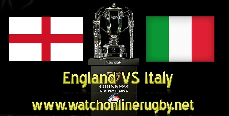 England VS Italy Live Six Nations 2019