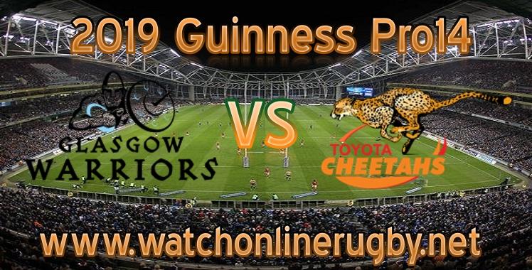 Glasgow Warriors VS Cheetahs Live Stream