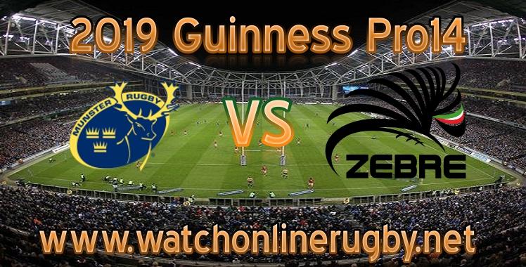 Munster VS Zebre Live Stream