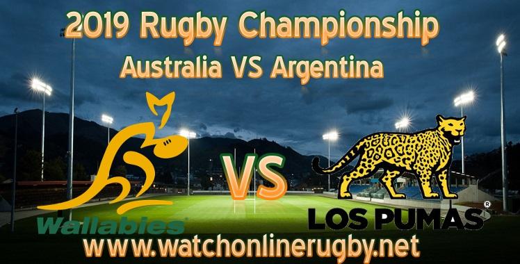 Australia VS Argentina Rugby Live Stream
