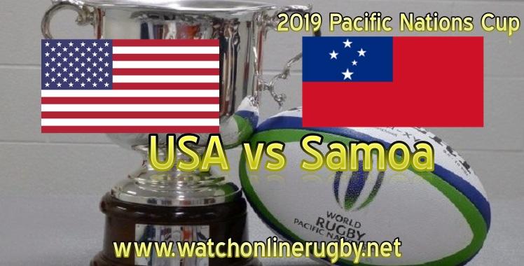 USA vs Samoa Rugby Live Stream