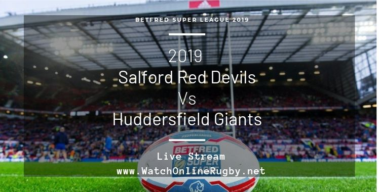 Red Devils Vs Huddersfield Giants Live Stream