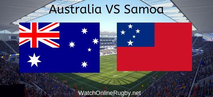 Australia VS Samoa Live Stream
