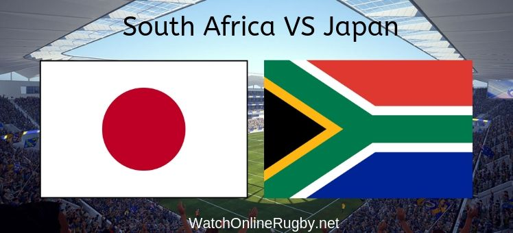 Japan VS South Africa Live Stream