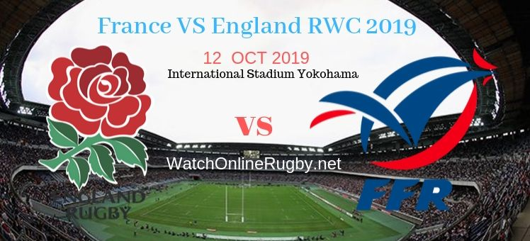 RWC 2019 France VS England Live Stream