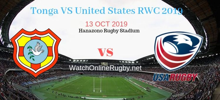 RWC 2019 Tonga VS USA Live Stream
