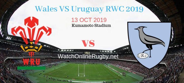 RWC 2019 Wales VS Uruguay Live Stream