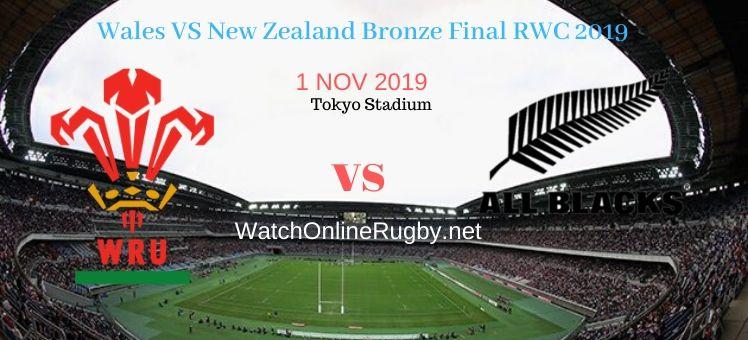 All Blacks VS Wales 2019 RWC Bronze Final Live Stream