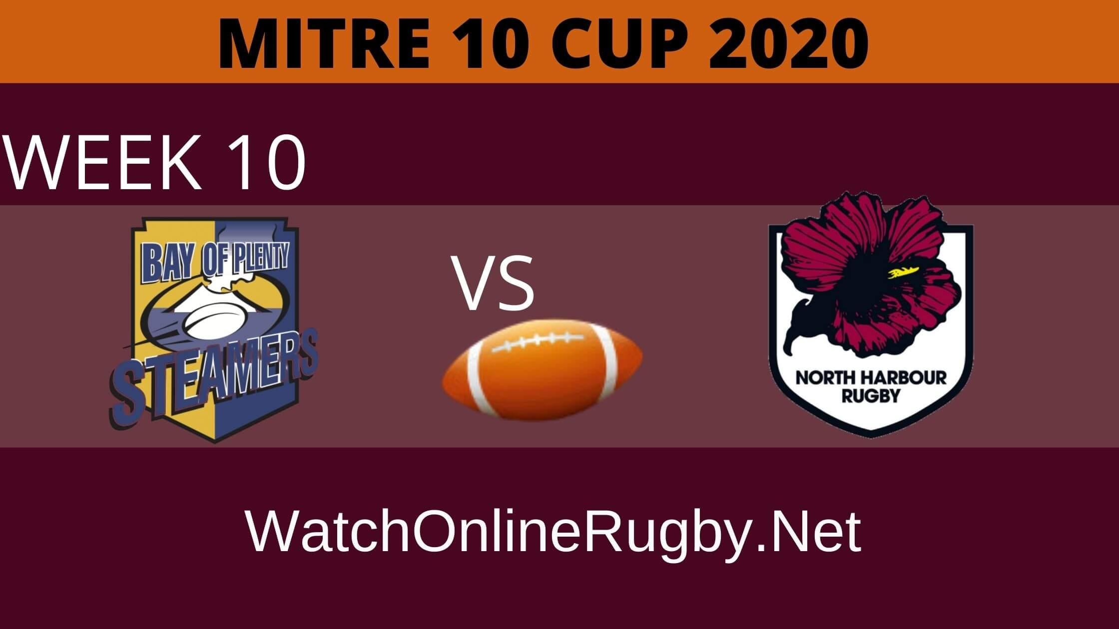 Rugby Bay Of Plenty vs North Harbour Live Online