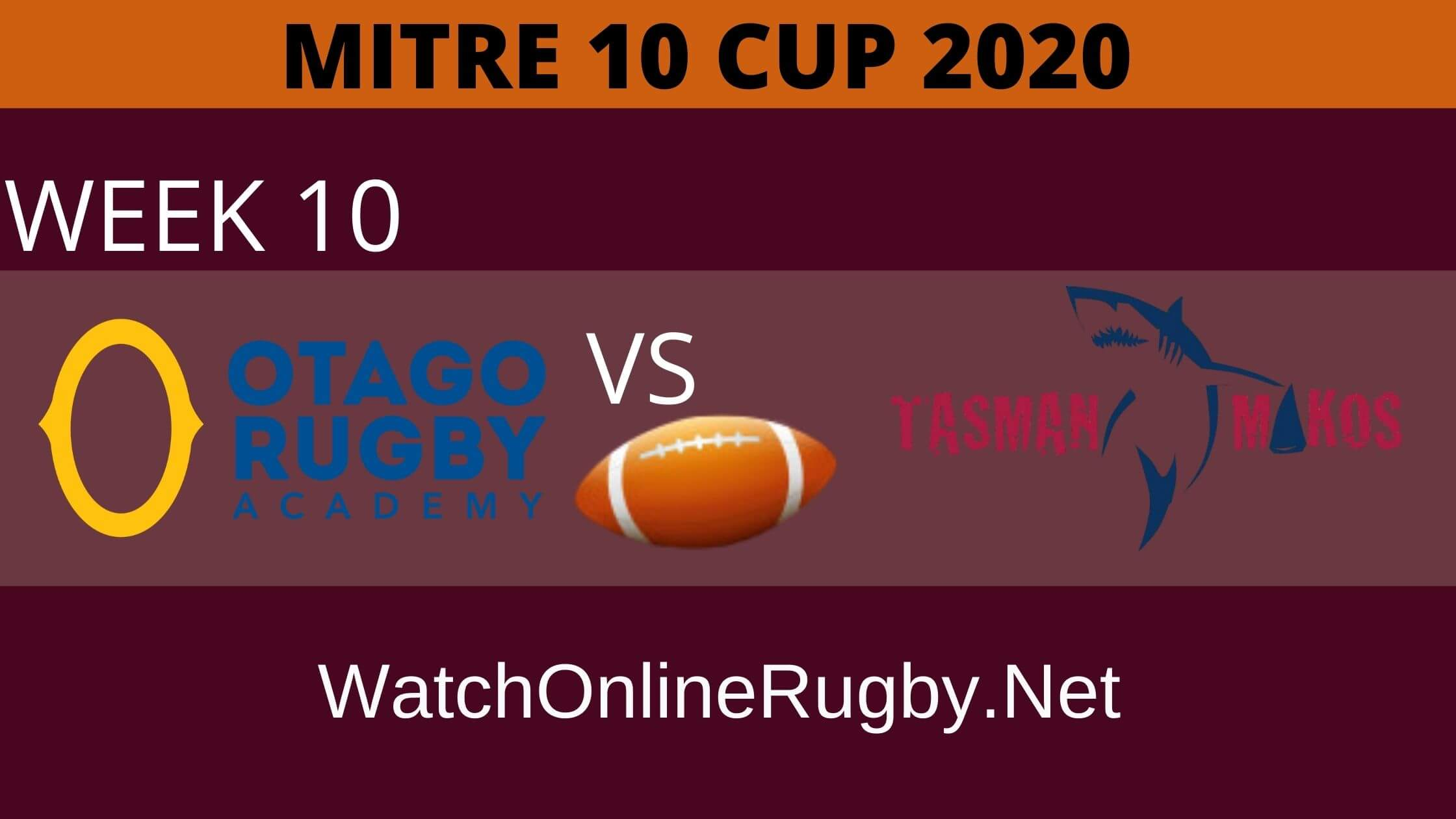 Tasman vs Otago Rugby Online Live