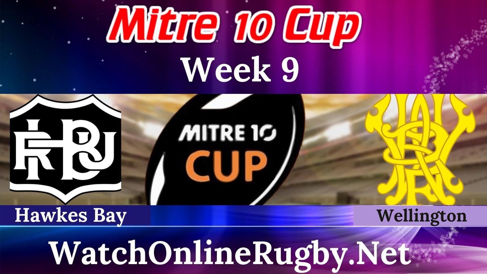 Hawkes Bay Vs Wellington Live Stream Mitre 10 Cup