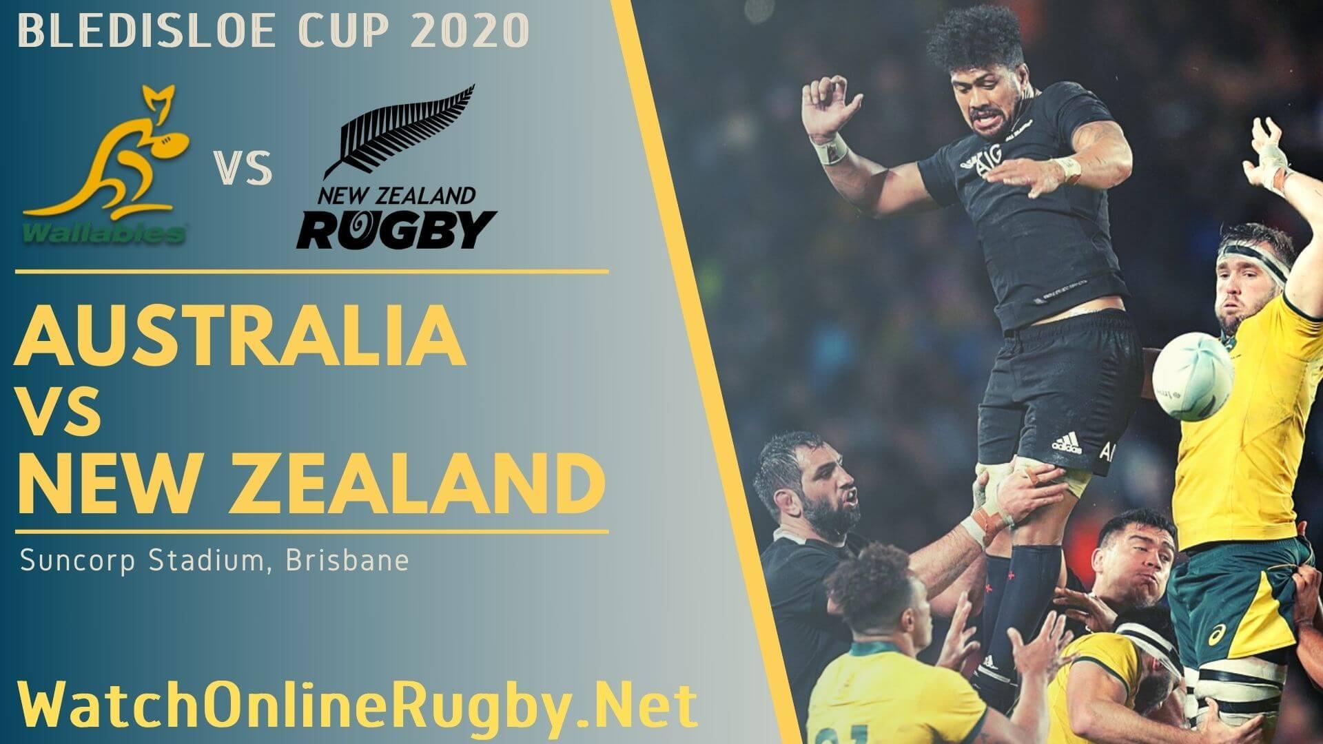 2016 Australia vs New Zealand Rugby Match Live