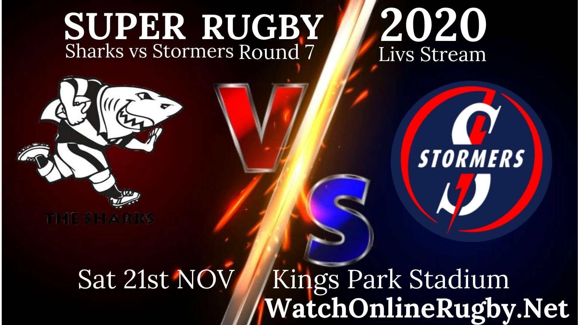Live Sharks vs Stormers Online