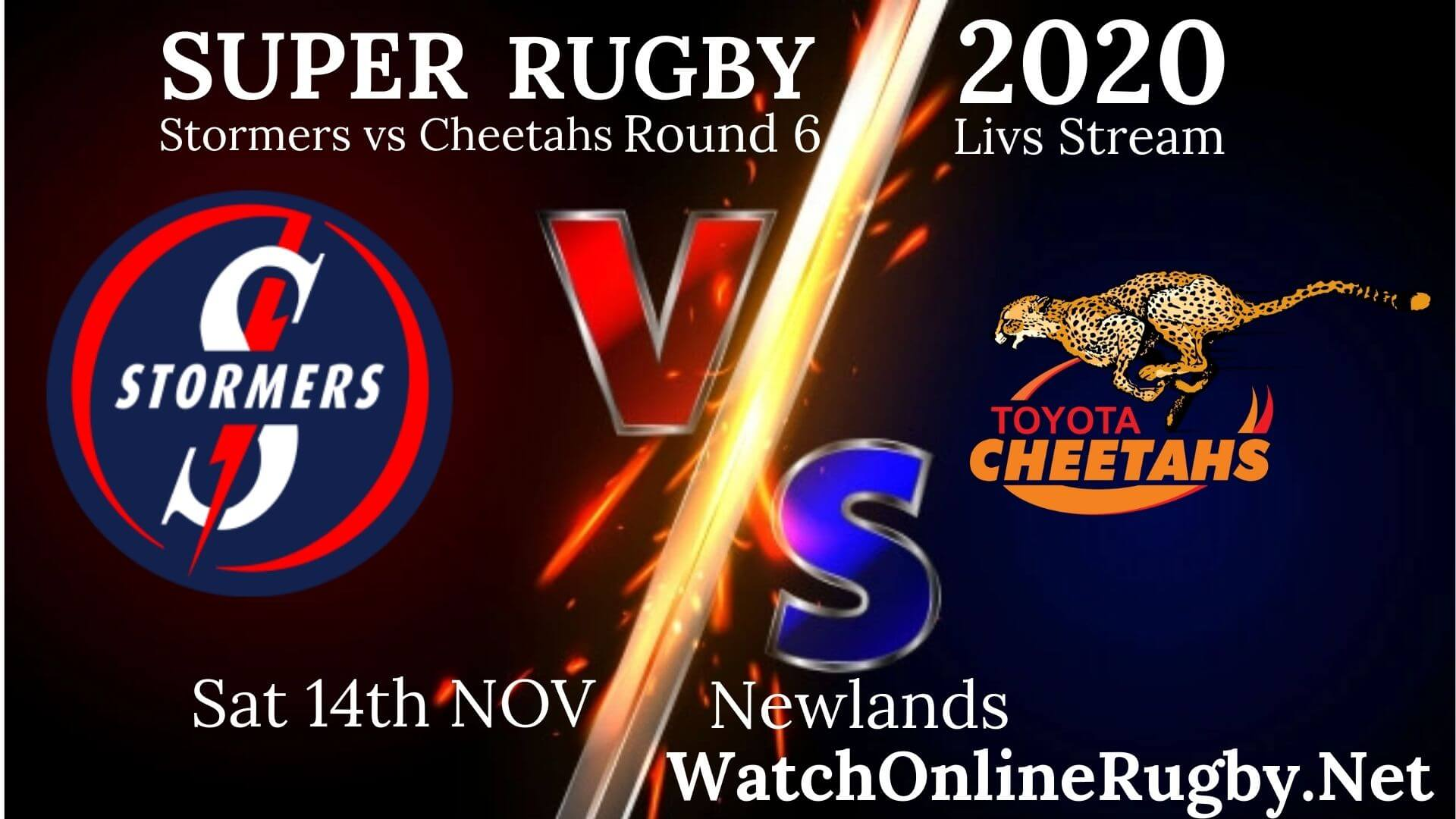 Stormers vs Cheetahs Live Streaming