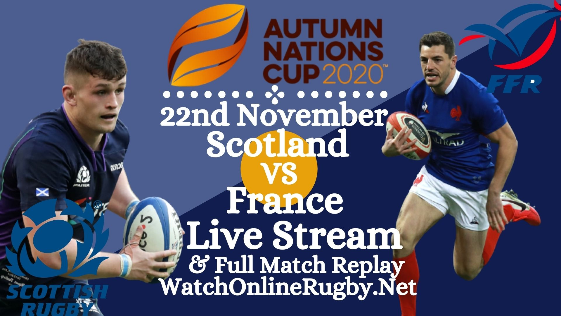 Watch France vs Scotland Rugby Live