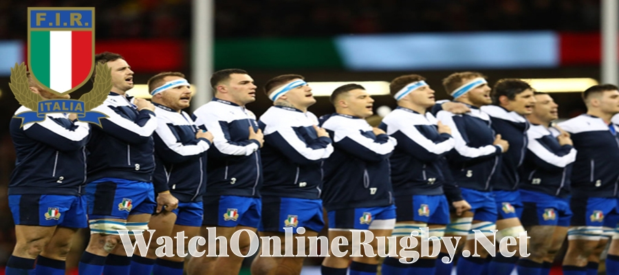 Rugby Italy Squad Live Stream Nations Cup