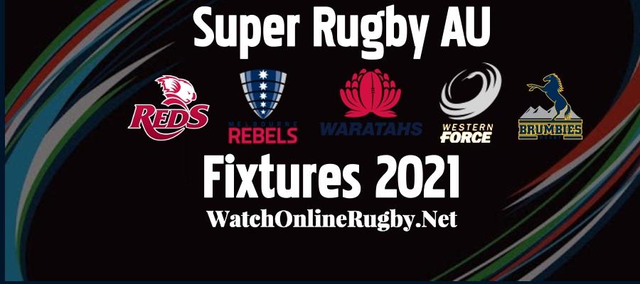2021 Super Rugby AU Schedule Announced