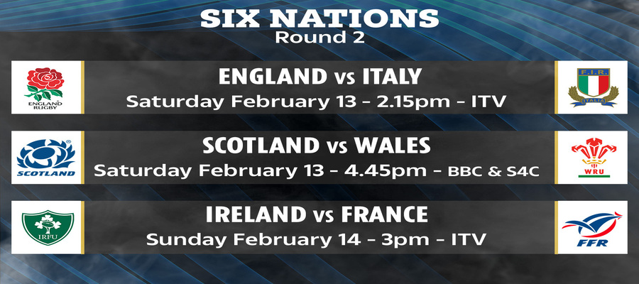 How To Watch Six Nations Rugby Round 2 Live Stream Replay