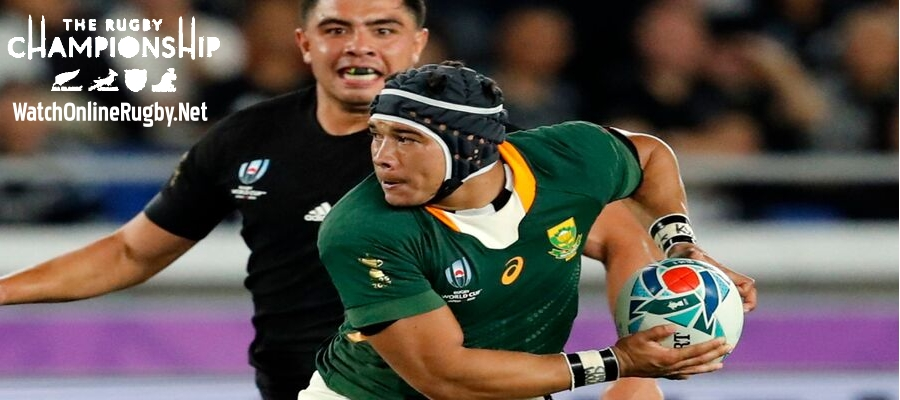South Africa Join the Rugby Championship in 2021