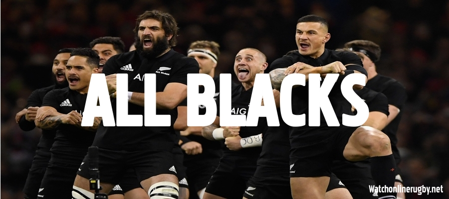 Watch New Zealand All Blacks Rugby Live Stream From Anywhere