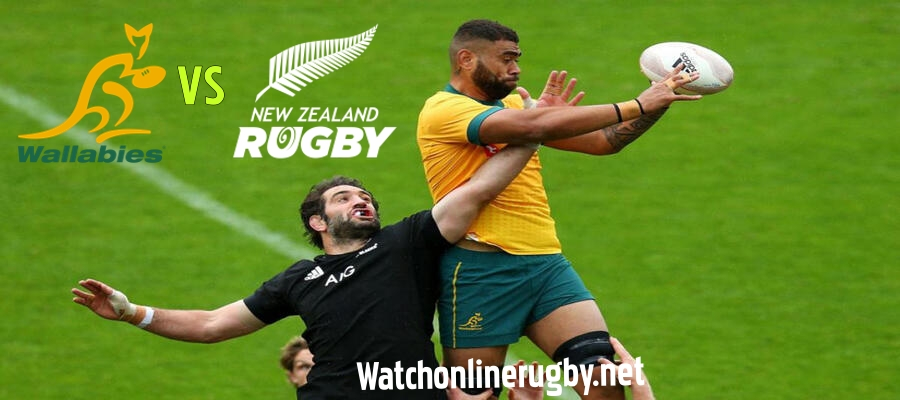 Australia request umpire to look at the New Zealand Lineout
