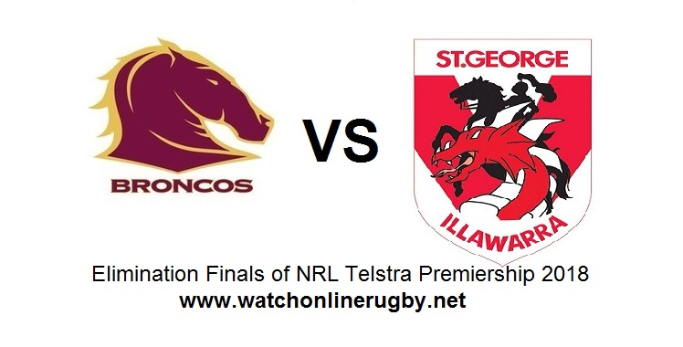 Broncos VS Dragons Live
