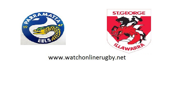 Eels VS Dragons Live Streaming NRL