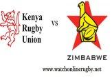 Kenya VS Zimbabwe Rugby Live