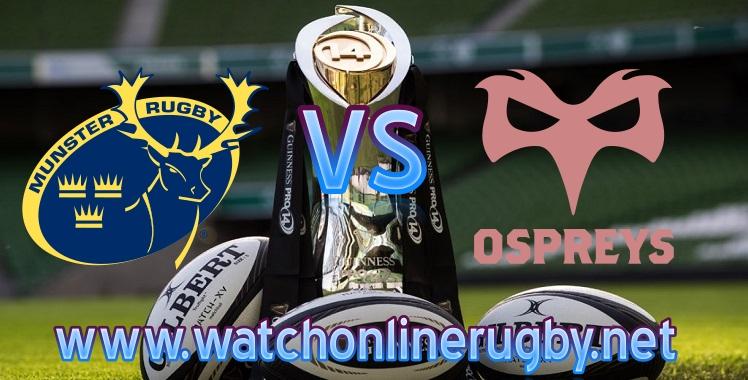 Live HD Munster VS Ospreys