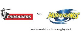 Watch Hurricanes VS Crusaders Semifinal Live