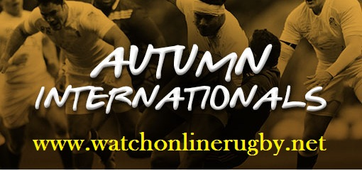 Autumn Internationals Schedule 2017