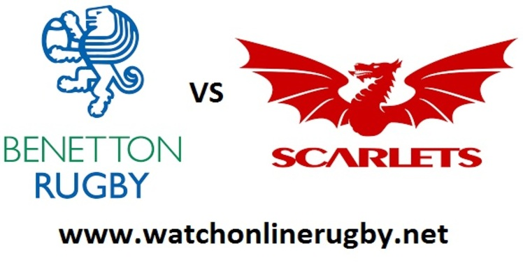 Benetton Treviso vs Scarlets Rugby Live