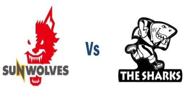 Live Rugby Sharks VS Sunwolves 2018