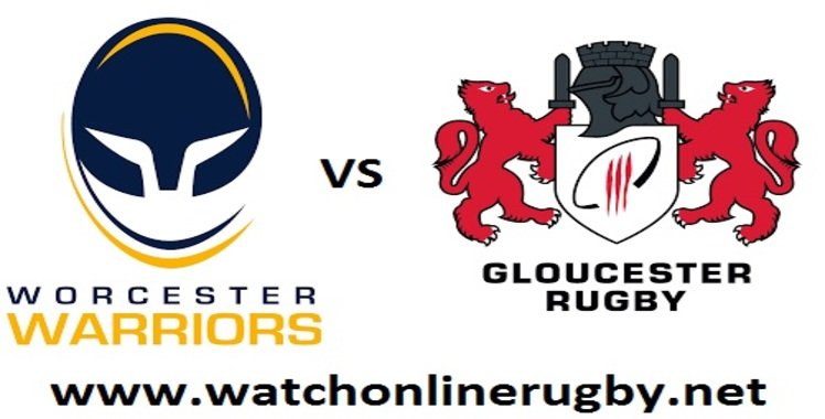 Worcester Warriors VS Gloucester Rugby Live