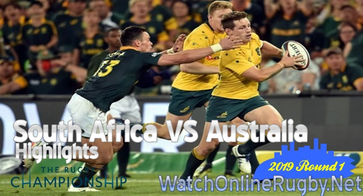 Round1 South Africa v Australia Highlights Rugby Championship 2019