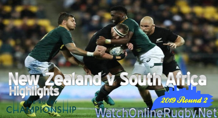 Round2 New Zealand v South Africa Highlights Rugby Championship 2019