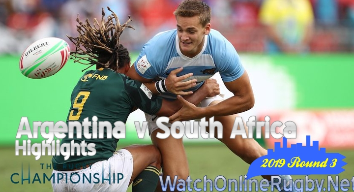 Round 3 Argentina v South Africa Highlights Rugby Championship 2019