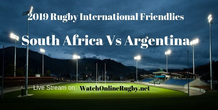 South Africa Vs Argentina Rugby Live Stream